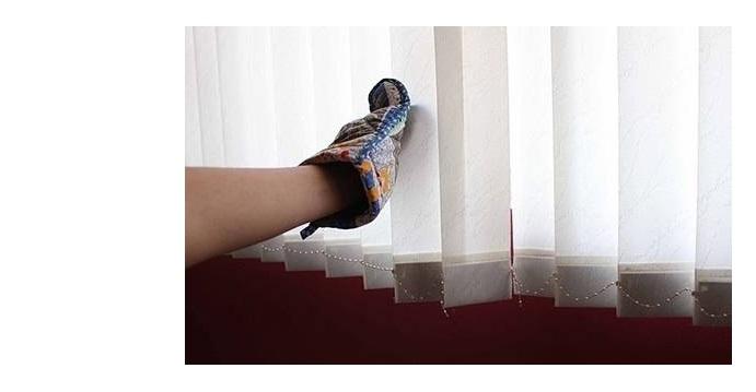 Как ухаживать за вертикальными жалюзи