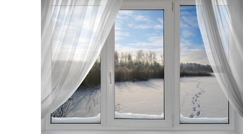 Готовим пластиковое окно к зиме